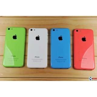 二手5C新凈 16GB  5色 APPLE iPhone 5C 16GB Multi-color 820/per one