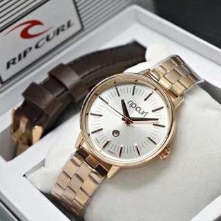 Jam tangan ripcurl rosegold original