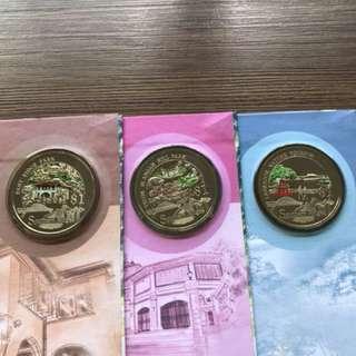 "Singapore 2008 ""Southern Ridges"" Cu-Ni Proof-Like Coins"
