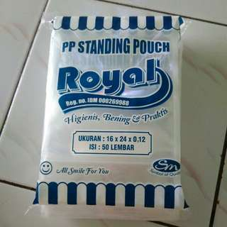 Plastik snack ~Pp standing pouch