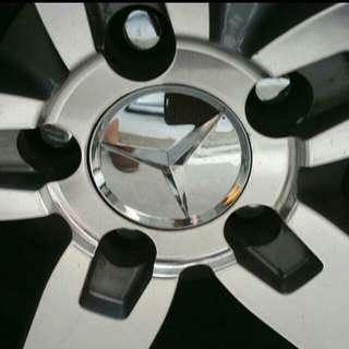 Brand New Fully Chrome Mercedes Wheel / Rim Cap (not those silver chrome type)