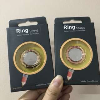 MIRROR RING STAND