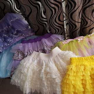 Super sale!!!!   ALL  6 pcs for only php250 ♡☆Tutu's for kids