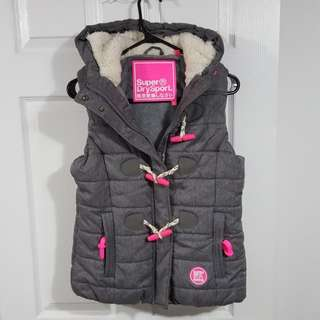 Superdry Women's Fleeced Vest size S