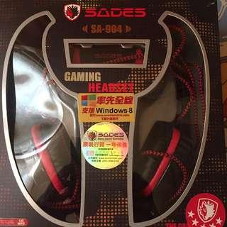 SADES打機專用耳機 USB 插頭