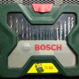 Bosch drill bit set 33pcs