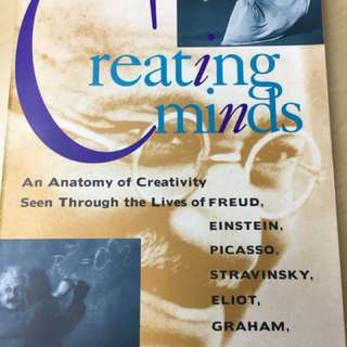 Creative Minds - Howard Gartner. Multiple intelligences. Stories of Freud, Einstein, etc.