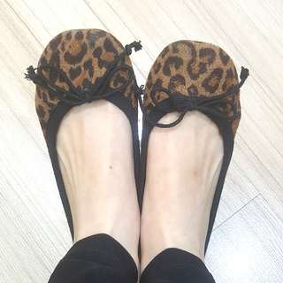 Rubi Leopard Flatshoes