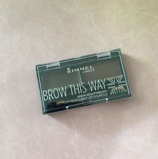 Rimmel Brow This Way Brow Sculpting Kit