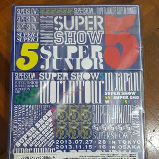 Supershow 5 in Japan official dvd