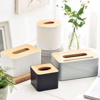 Scandinavian Minimalist Nordic Wooden Tissue Box Cover