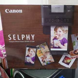 Canon Selphy Compact Photo Printer CP1300 with Paper Set