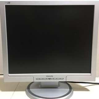 19 吋 Philips 飛利浦 舊 LCD 顯示器