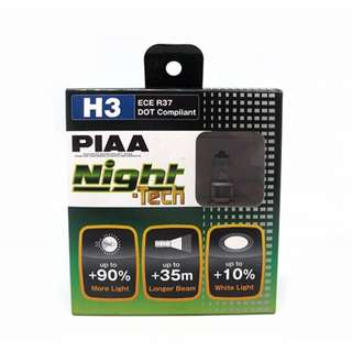 PIAA H3 ECE R37 Night-Tech DOT Compliant Set of 2