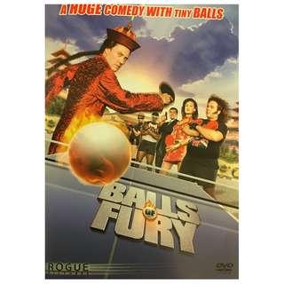 DVD - BALLS OF FURY