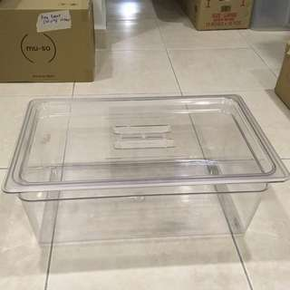 Large Plastic Container