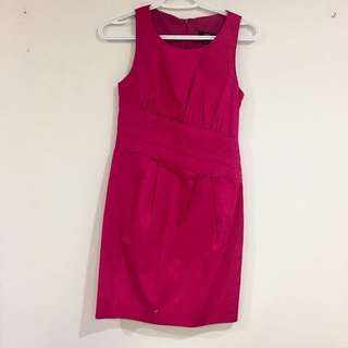 Jacob fuchsia dress