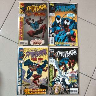 Spider-Man: The Exile Retuen. Part1-4. (NM)