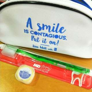 Free with purchase!!! Dental toothbrush set