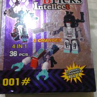 Bricks intellect 4 in 1 lego yoy