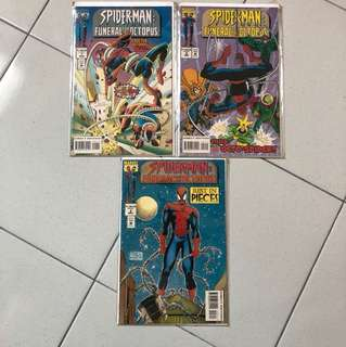 Spider-Man: Funeral For An Octopus. Part1-3. (NM)