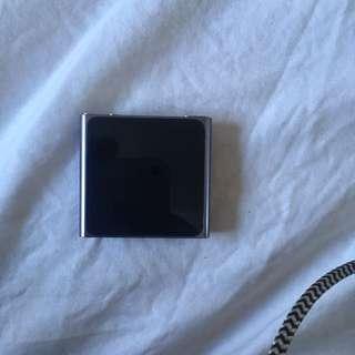 Purple/grey iPod shuffle