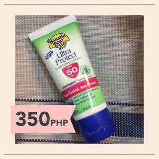 Banana Boat Ultra Protect Sunscreen Lotion SPF50 PA+++