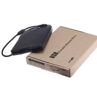 (全新) 3.5吋 1.44Mb 外置磁碟機 連接電腦 USB External Portable Diskette Drive Windows 7 8 10 不用驅動程式 Floppy