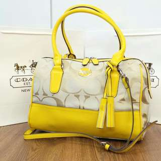 Coach speedy full LEATHER
