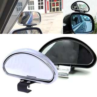 Blind Spot Mirror 360 degree rotatable wide angle blind spot mirror for vehicles car van bus lorry trailer etc
