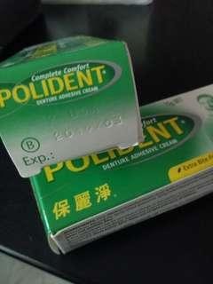 Denture adhesive cream