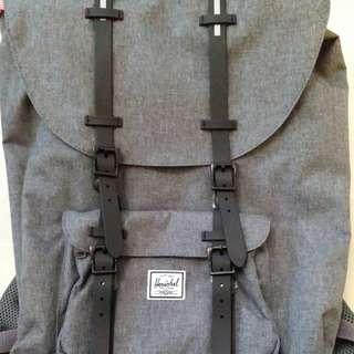 HerscheI  灰色背包  :  一口價