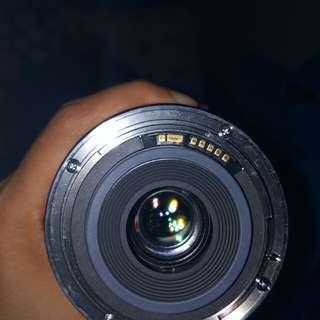 Lensa Wide Canon 10-22 F3-4.5 USM 2nd Mulus