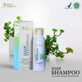 Hair Shampo Atasi masalah ketombe membandel rambut berminyak kusut kering rontok & bisa menumbuhkan rambut yang alami aman asli & BPOM