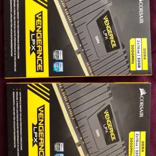 Corsair Vengeance LPX DDR4 3000Hz 32GB, 2x16