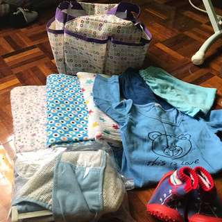 Baby bundle items