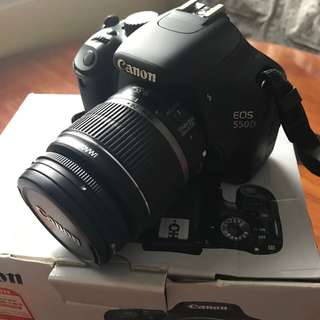 Canon 550D Body + Kit Lens