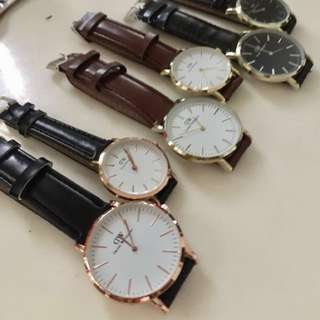 DW couple leather best seller Gold Frame