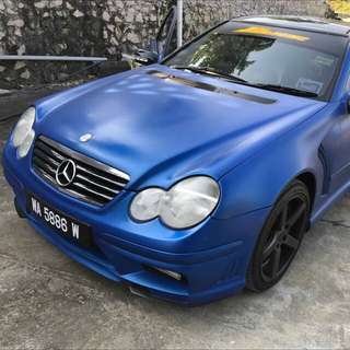 Mercedes c200k coupe