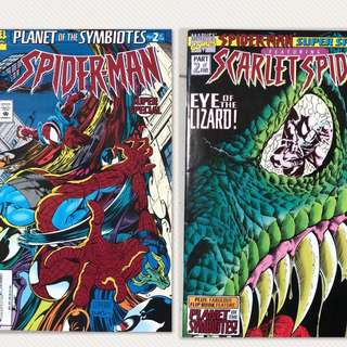 Spider-Man: Planet Of The Symbiotes. 2 in one comic.