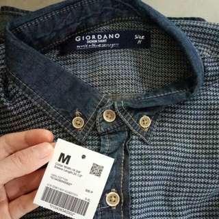 giordano demin shirt