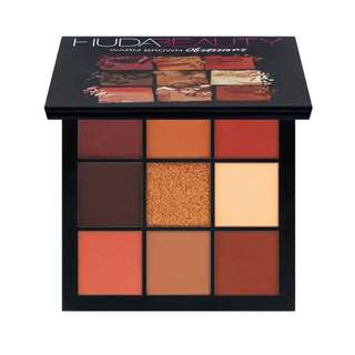 INSTOCK: Huda Beauty Obsessions Palette Warm Brown