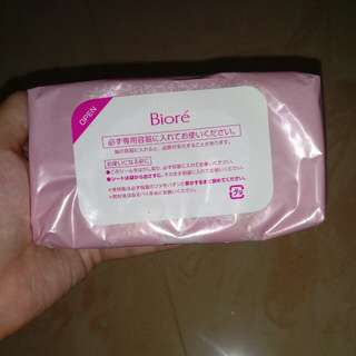 Biore Makeup Remover/ Wipes