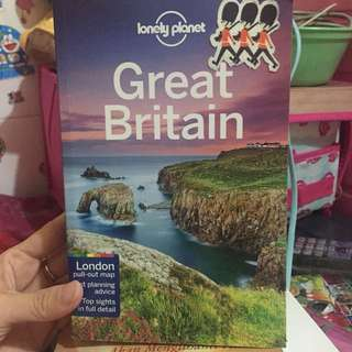 Great Britain Lonely Planet Original