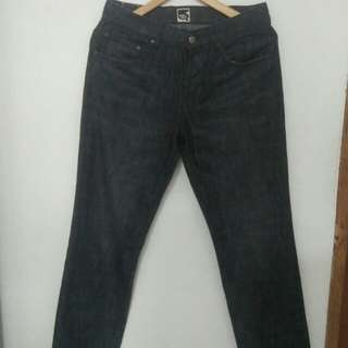 Celana denim sixteen denim scale (16ds by dxxt)