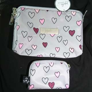 🌟BNWT Jujube Happy Hearts Beset large and small be set piece trades possible for Tokidoki Hello Kitty prints eg lucky star dreamworld hello perky