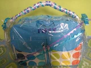Baby bag storage
