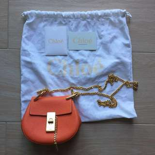 Chloe mini drew handbag