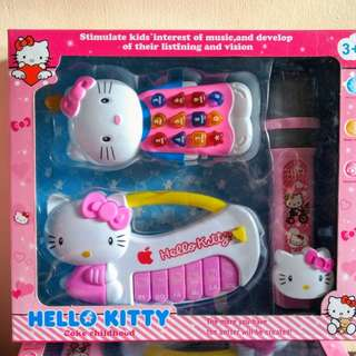Hello Kitty Toy Set (Baterry Operated)