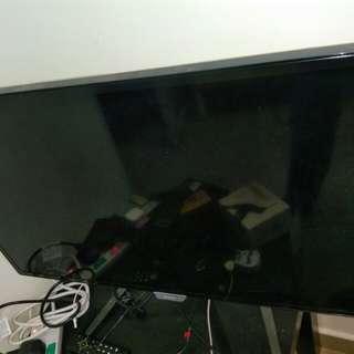 9成9新 Philips 32寸 IPS Led 全高清電話視電腦螢幕